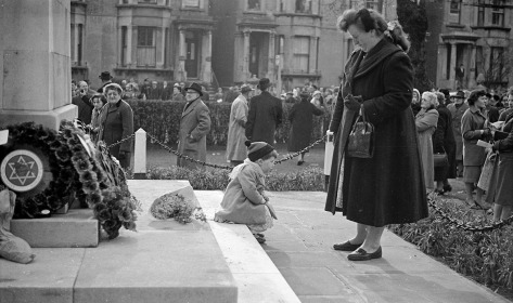 Remembrance Day 1958 Shepherds Bush