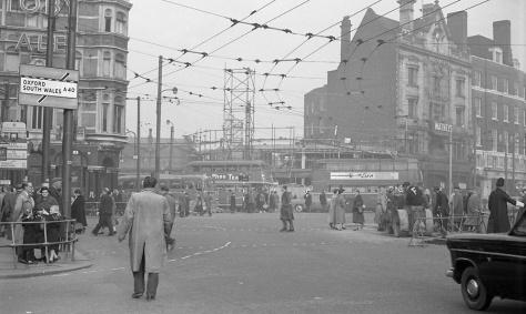 Street scenes, Hammersmith 1957-8